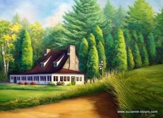 Club de Golf Grand'Mère ancien clubhouse Mauricie