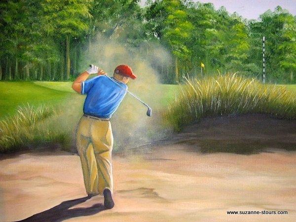 Golfeur Golf Grand-Mère