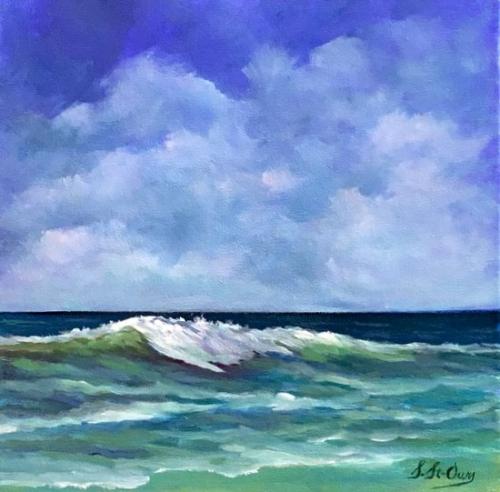 vague floride mer bleu turquoise eau