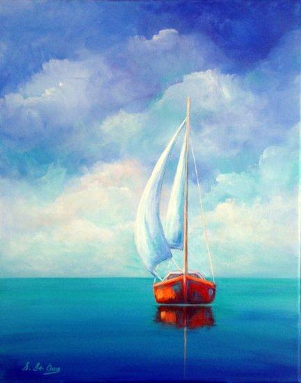 turquoise méditerranées ciel nuages mer plage bateau voilier