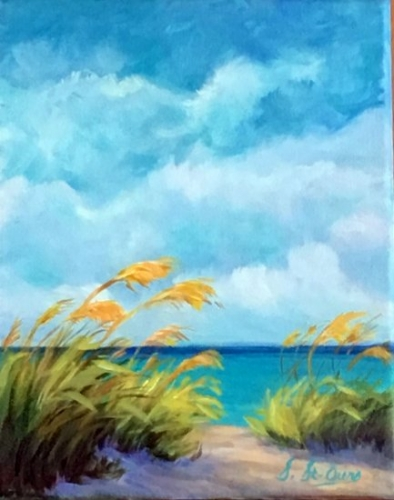 Naples dunes mer plage graminées sable turquoise